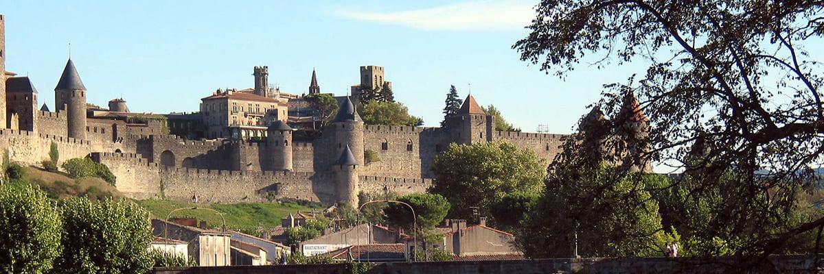 vue panoramique château de Carcassonne
